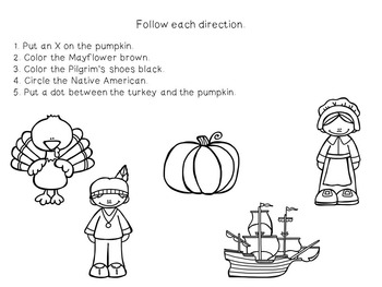 Interactive Concept  Mini Books: Thanksgiving Past and Thanksgiving Dinner