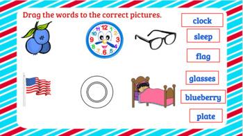 Interactive Consonant Blends bl,cl,fl,gl, sl, pl Activities