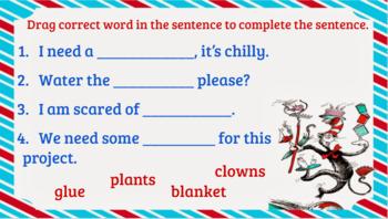 Google Classroom- Interactive Consonant Blends bl,cl,fl,gl, sl, pl Activities