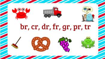 Interactive Consonant Blends br, cr, dr, fr, gr, pr, tr Activities