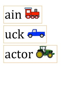 Interactive Consonant R Blends