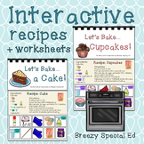 Interactive Cooking Lessons / Visual Recipes : Cake and Cupcakes