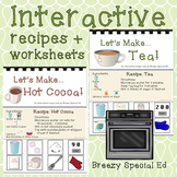 Interactive Cooking Lessons / Visual Recipes: Hot Cocoa and Tea