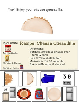 Interactive Cooking Lessons: Visual Recipes for Nachos and Cheese Quesadillas