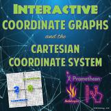 Interactive Coordinate Graphs & the Cartesian Coordinate System (ActivInspire)