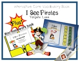 Core Vocabulary Interactive Book: I See Pirates