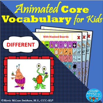 Interactive Core Vocabulary Stories for AAC: BUNDLE 1