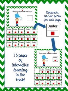 Interactive Core Word Book & Comprehension Activity: Under
