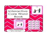 Interactive Core Word Book- HELP