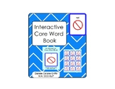 Interactive Core Word Book- NOT