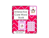 Interactive Core Word Book- WANT