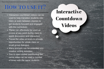 Interactive Countdown Video: Teacher Guide