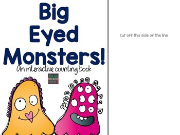 Interactive Counting Book FREEBIE