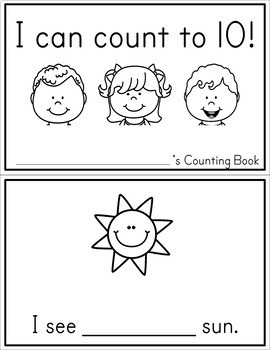 Counting Book - Free