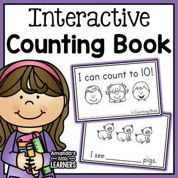 Counting Book - Freebie