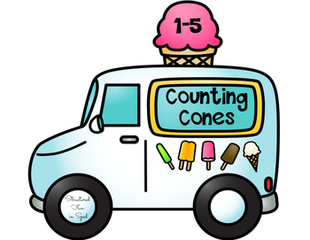 Interactive Counting Book: Ice Cream Cone Edition