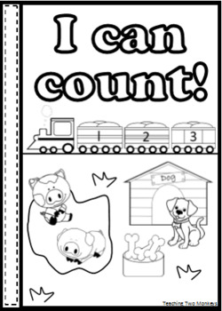 Interactive Counting Book (Printer Friendly Version)