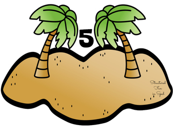 Interactive Counting Book: Sandcastle Edition