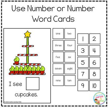 Interactive Counting Books 1-20: Christmas BUNDLE