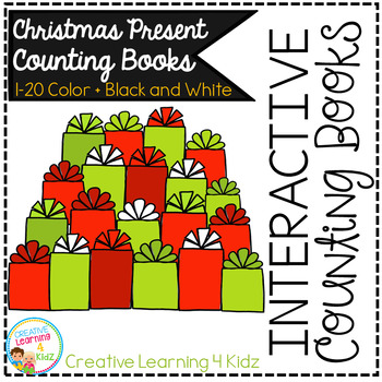 Interactive Counting Books 1-20: Christmas Presents