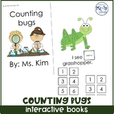 Interactive Counting Bugs Book (Differentiated in 3 levels!)
