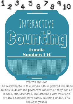 Interactive Counting Bundle (Numbers 1-10)