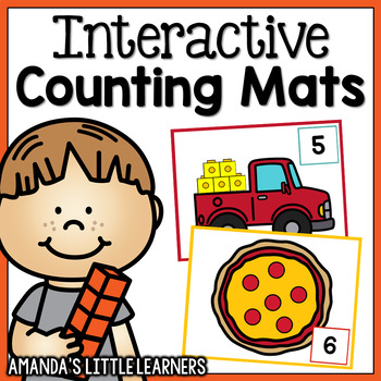 Interactive Counting Mats - Number Sense Game
