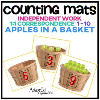 Interactive Counting Mats: Apples in a Basket