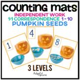 Interactive Counting Mats: Pumpkin Seeds