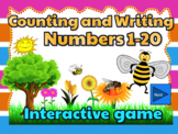 Counting and Writing Numbers 1-20 Powerpoint game - The Bee Story