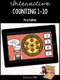 Interactive Counting Skills 1-10 Activity - Pizza Edition