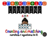Interactive Counting up to 10