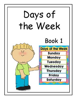 Interactive DAYS OF THE WEEK BOOK