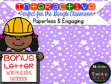 Interactive DOUBLE CONSONANT Word Building Word Work for G