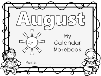 Interactive Daily Calendar Notebook