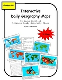 Interactive Daily Geography Maps