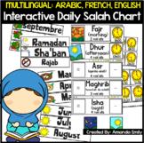 Interactive Daily Salah (Prayer) Chart