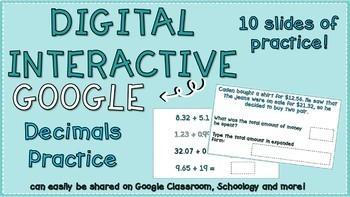 Interactive Decimals Practice