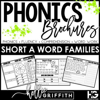 Phonics Brochures: Short A Reading Passages