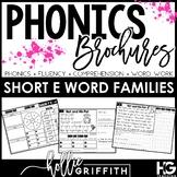 Phonics Brochures: Short E Reading Passages