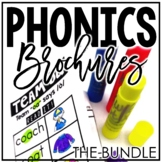 Fluency Passages and Word Work - Phonics Brochures THE BUNDLE