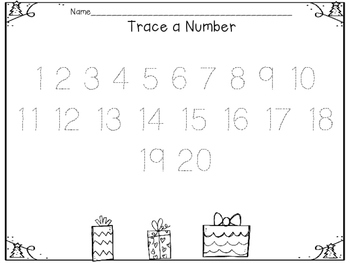 Interactive Decorate the Tree: ABC's, numbers, colors, shapes & sight words