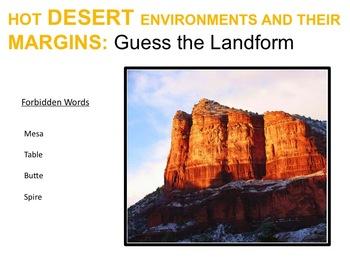 Interactive Desert Quiz
