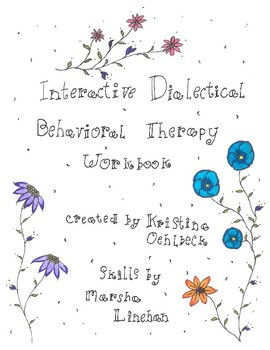 Interactive Dialectical Behavoiral workbook