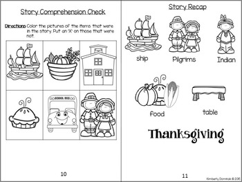 Interactive & Differentiated High Frequency Books: Thanksgiving Theme