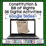 Distance Learning Digital Activities for the Constitution