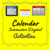 Calendar Activities - Interactive Digital