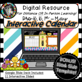 Interactive Digital Calendar - Google Slides MAY