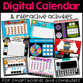 Interactive Digital Calendar and Activities