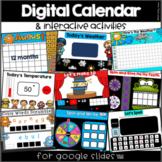 Digital Calendar for Google Slides™ (Distance Learning)